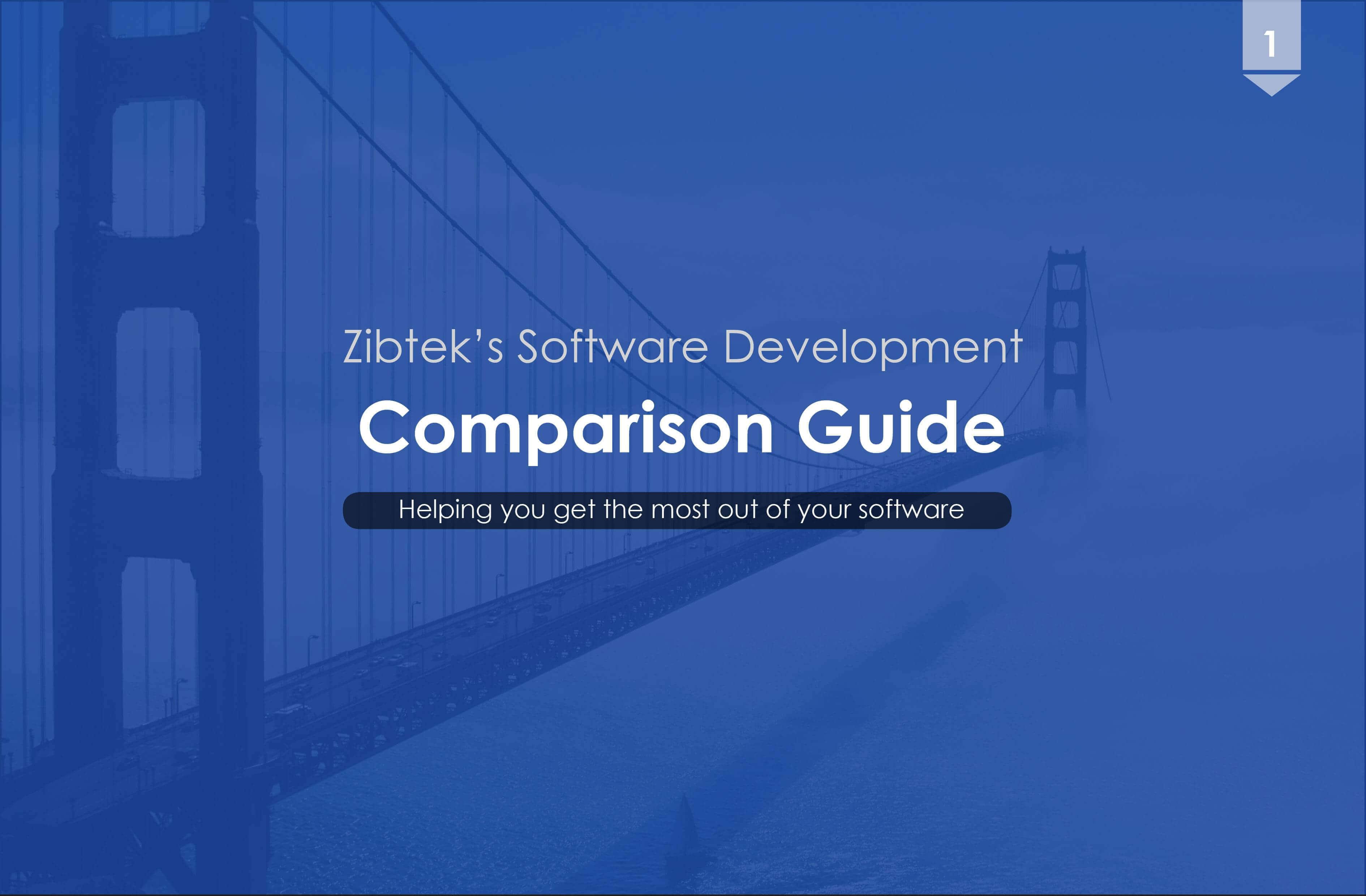Zibtek's Software Development Comparison Guide