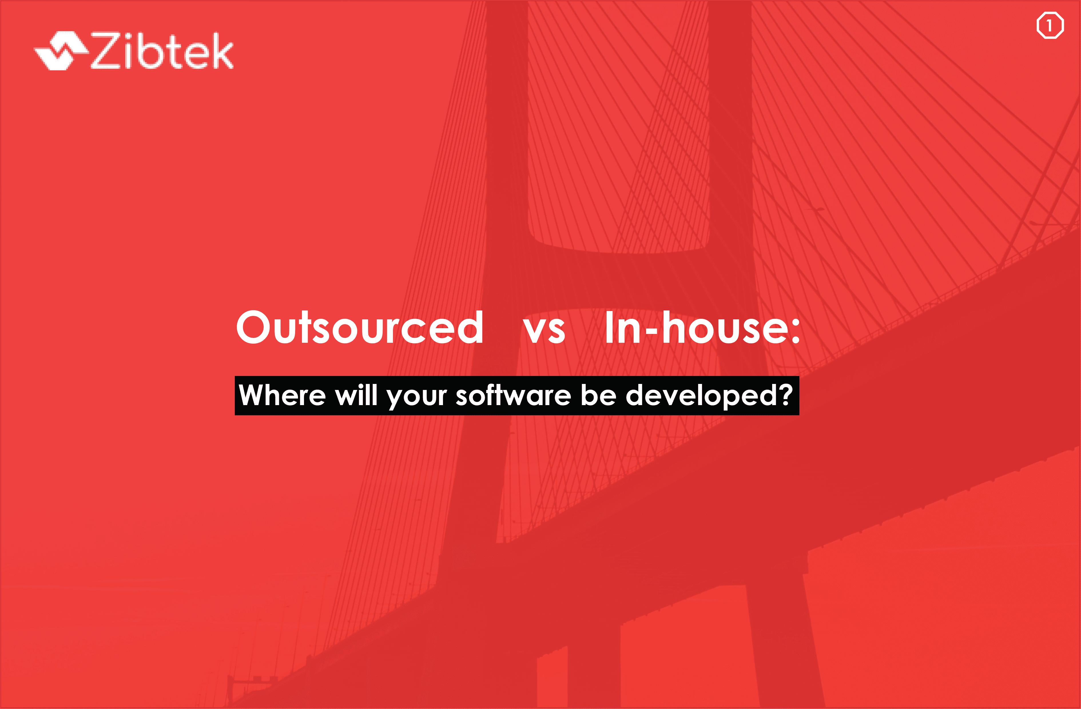 Outsourced vs In-house Development e-Book